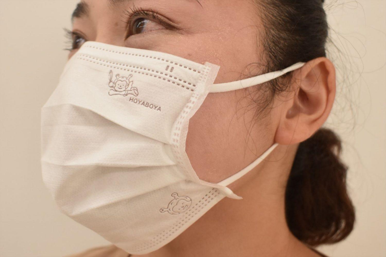 ホヤぼーや不織布マスクが人気
