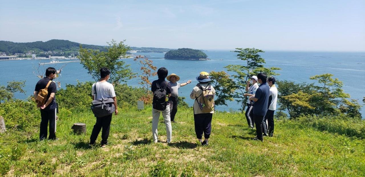 震災伝承施設に登録された「海の見える命の森」