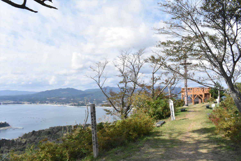 ゴンドラでのアクセスが現実味を帯びてきた亀山山頂